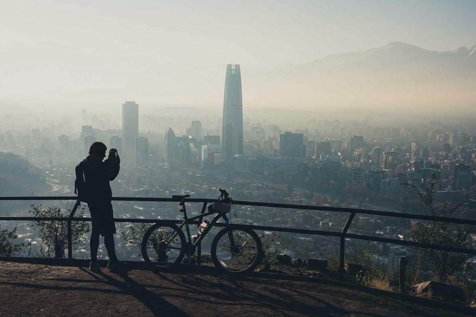 Santiago de Chile cityscape.