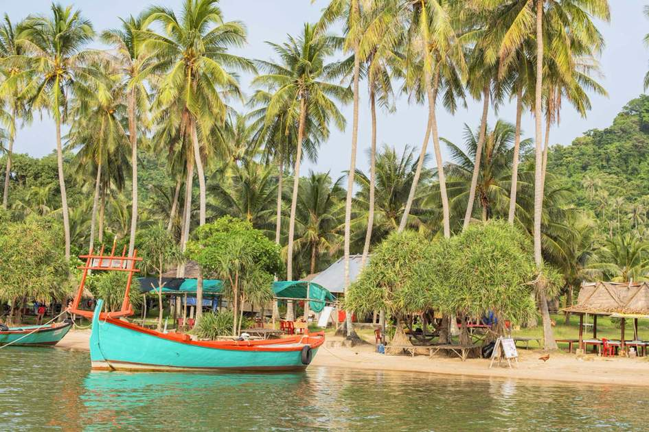 Rabbit Island beach, Cambodia. Photo: Shutterstock