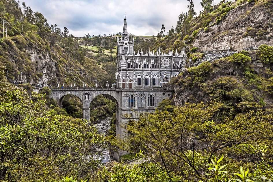 Sanctuary of Our Lady, Las Lajas, Colombia