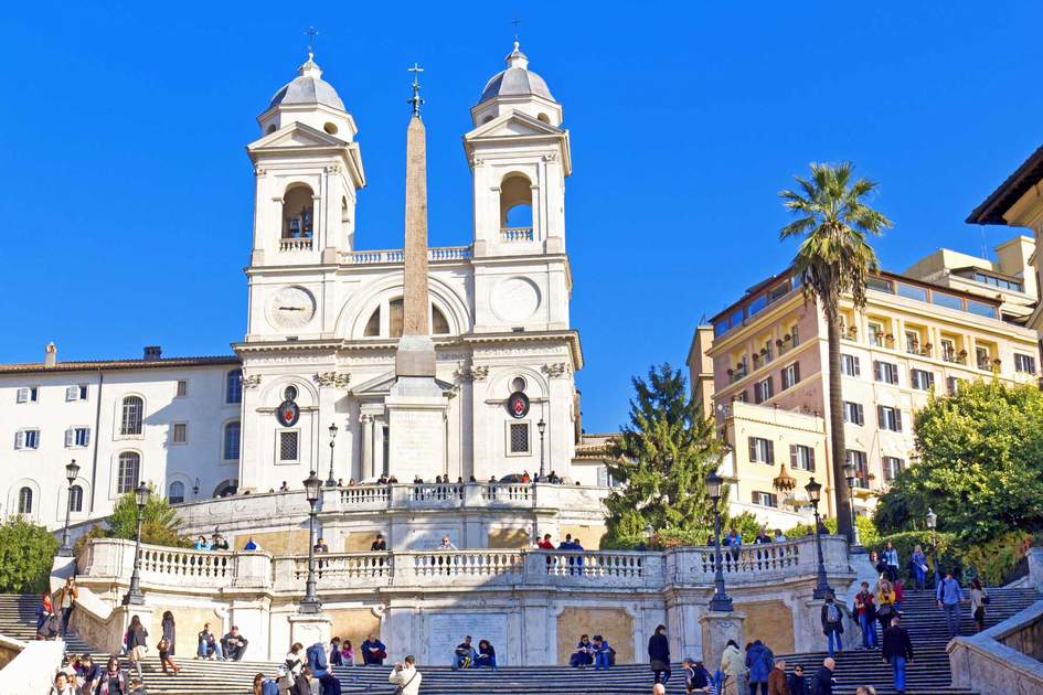 The famous Spanish Steps in Rome. Photo: Shutterstock
