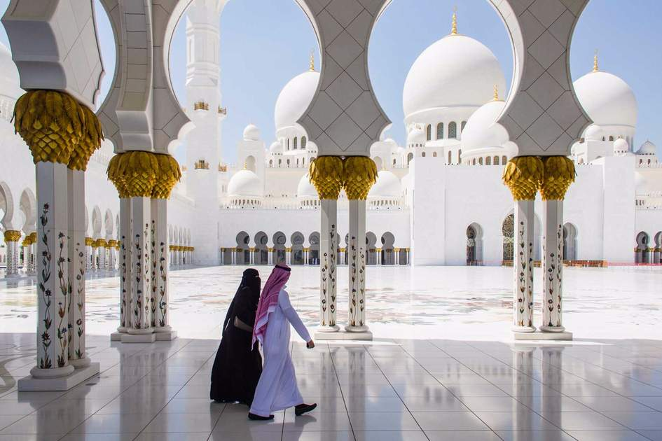 Sheikh Zayed Grand Mosque. Photo: Shutterstock