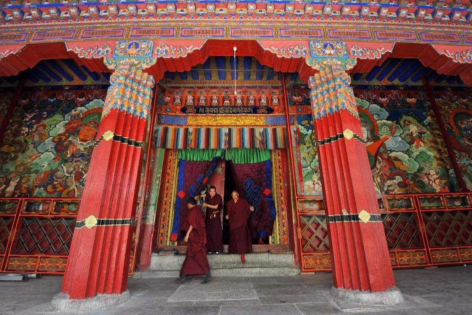 Main college building in the Sera monastery in Lhasa. Photo: Shutterstock