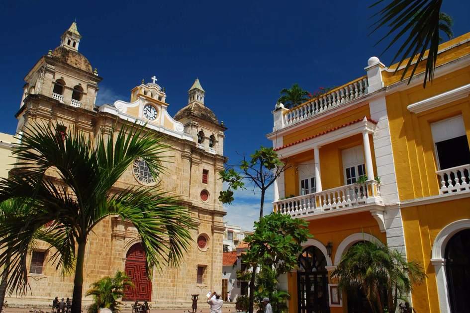 Iglesia San Pedro Claver, Cartagena. Photo: Fotolia