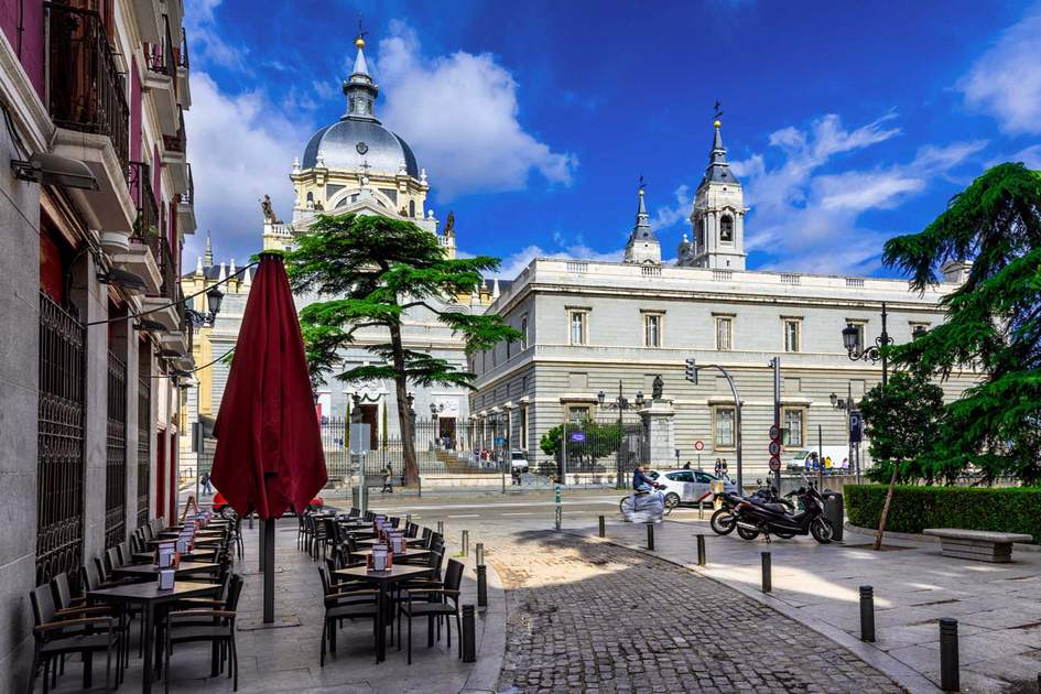 Cathedral Santa Maria la Real de La Almudena in Madrid. Photo: Fotolia