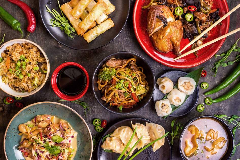 Assorted Chinese food set. Photo: Shutterstock