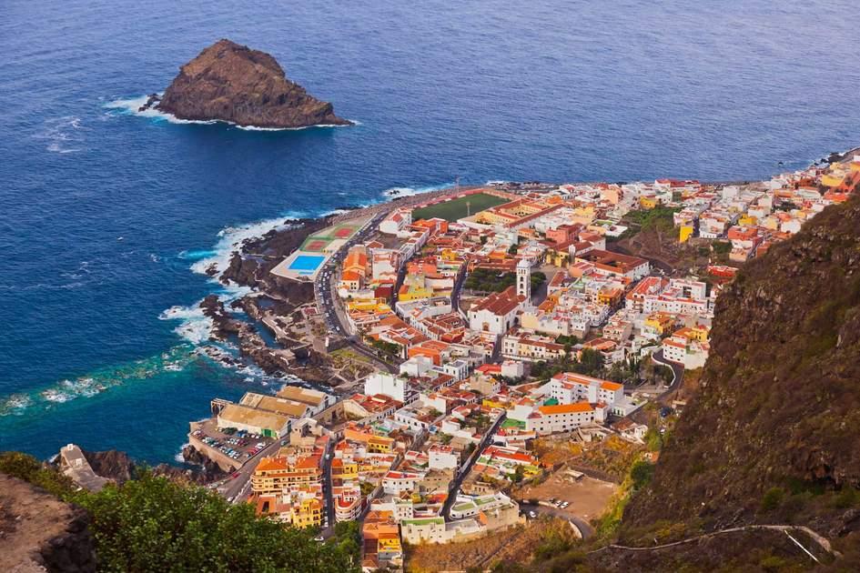 Garachico in Tenerife island