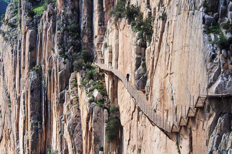 Image result for el caminito del rey