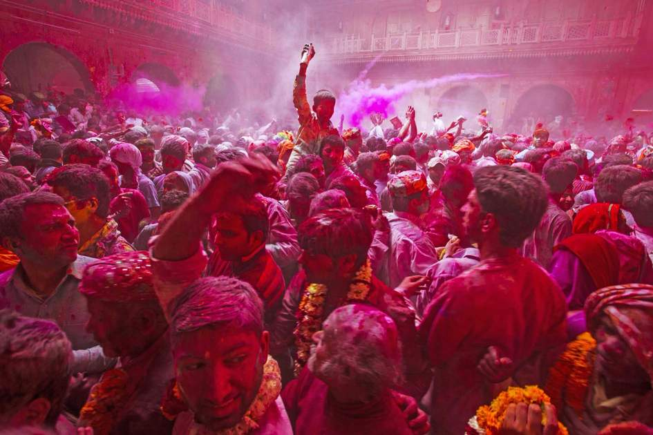 Holi is the most celebrated religious festival in India. Photo: Shutterstock