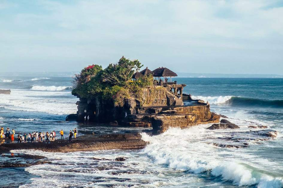 Tanah Lot temple, Bali. Photo: Fotolia