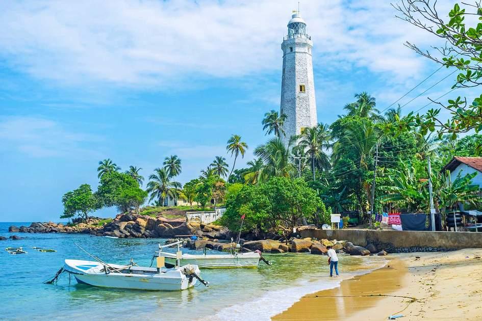 Dondra lighthouse of Sri Lanka