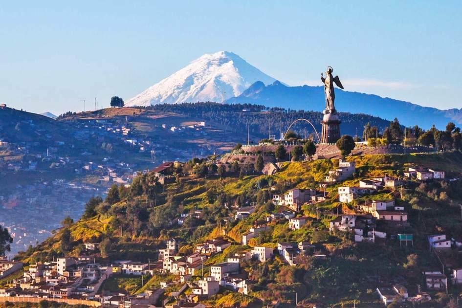 View of El Panecillo, Quito