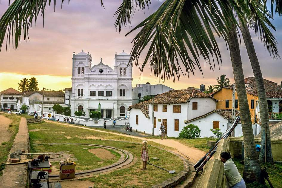 Inside the Galle Fort. Photo: Shutterstock