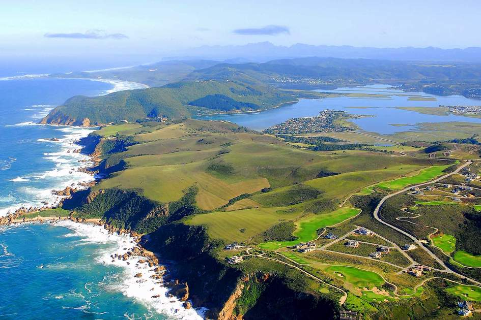 Aerial Shot of Knysna in the Garden Route, South Africa. Photo: Shutterstock