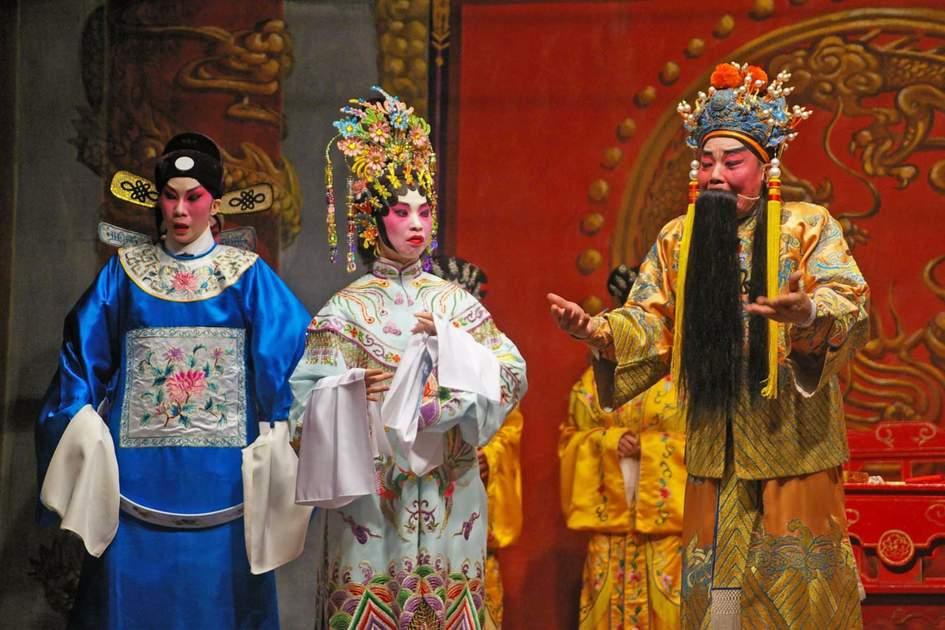 Celebrating Cheung Chau Bun Festival in Hong Kong. Photo: Shutterstock