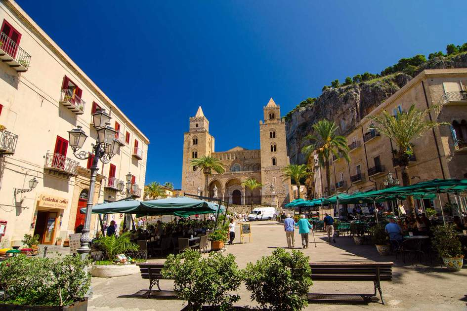 The Cathedral-Basilica of Cefalu (Duomo di Cefalu) is a Roman Catholic church in Cefalu, Sicily, Italy