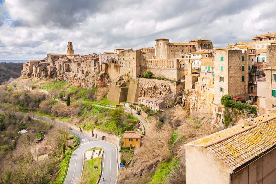 Pitigliano is known as the little Jerusalem for the historical presence of a Jewish community. Photo: Shutterstock