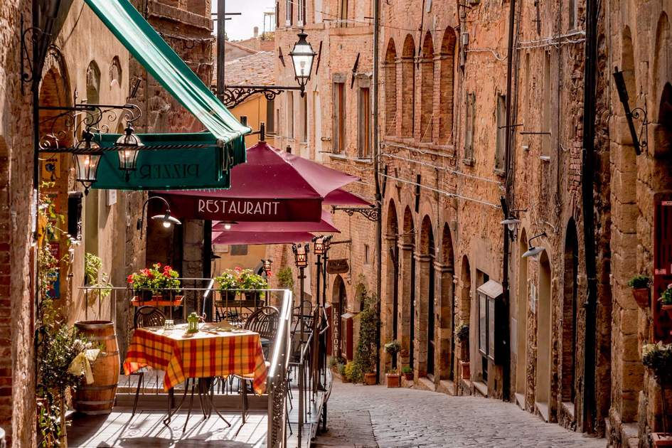 Streets of Volterra. Photo: Shutterstock