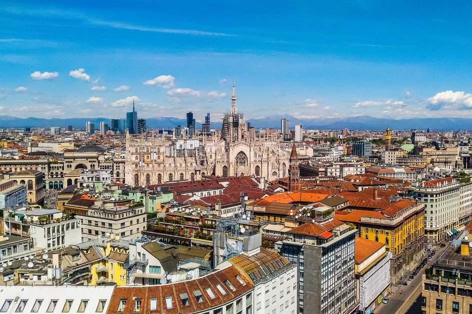 Milan's skyline