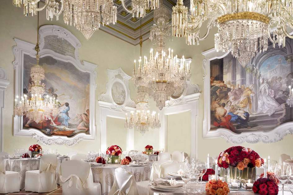 Dining Hall at the Four Seasons, Florence