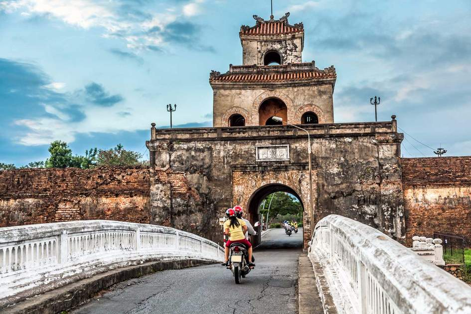The Palace Gate in Hue. Photo: Shutterstock