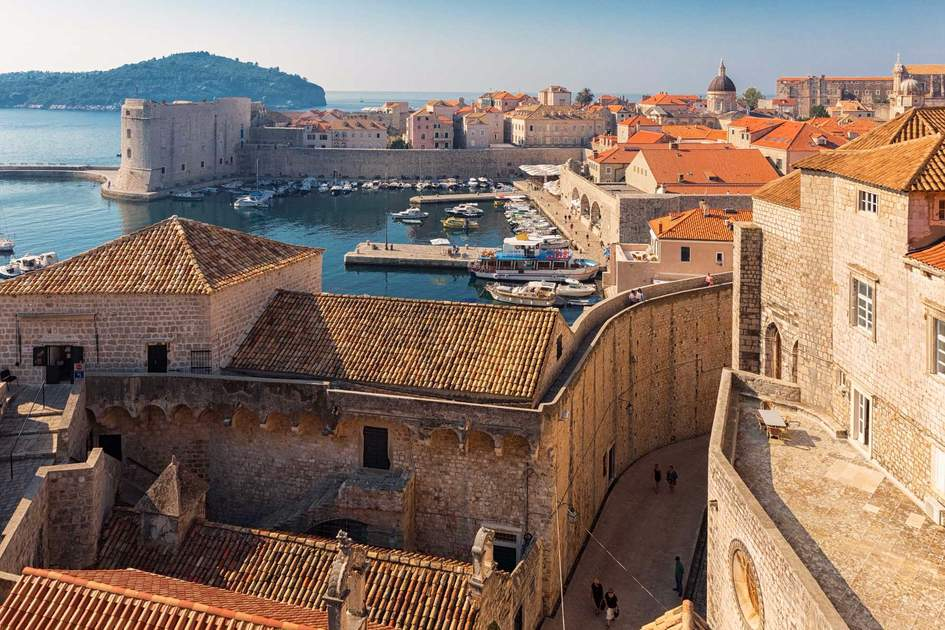 Red tiles roofs in old town of Dubrovnik. Photo: Shutterstock