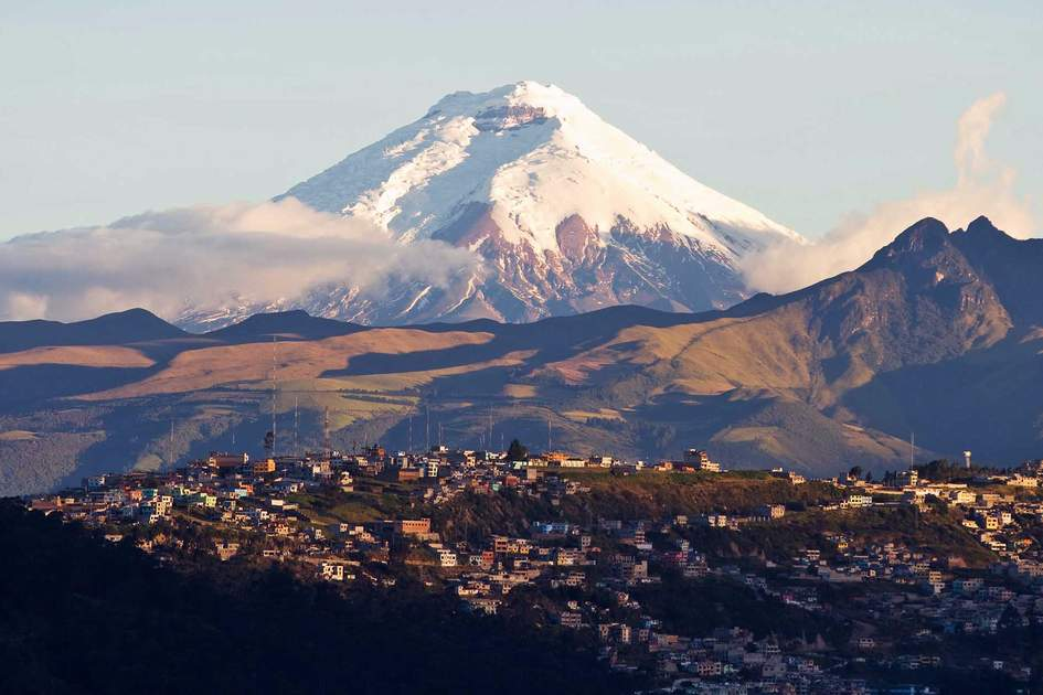 Cotopaxi volcano in Ecuador. Photo: Shutterstock