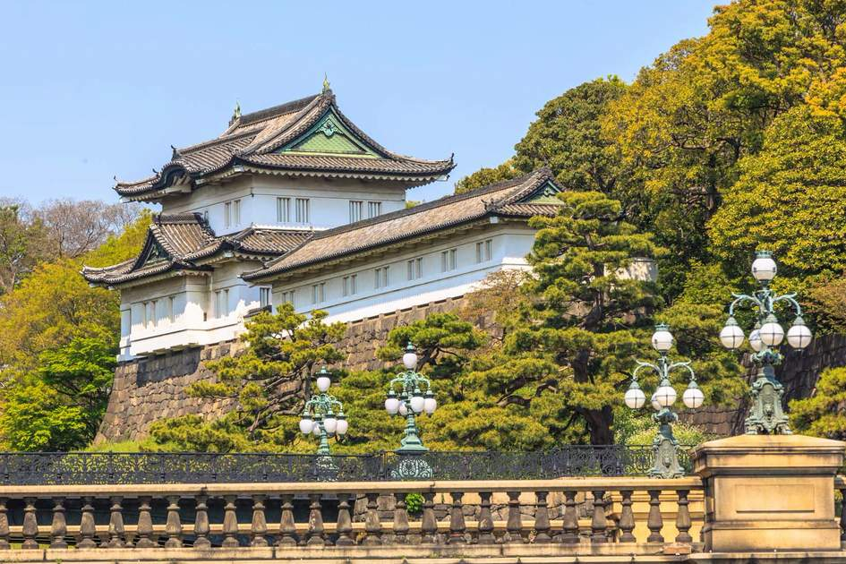 Tokyo Imperial Palace. Photo: Shutterstock