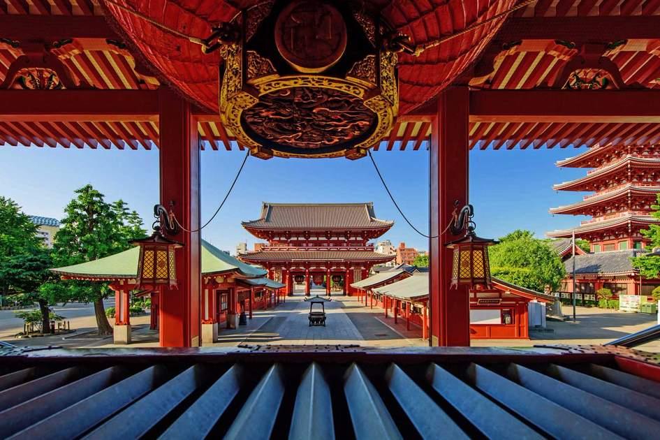 Sensoji-ji Temple, Asakusa district in Tokyo. Photo: Shutterstock
