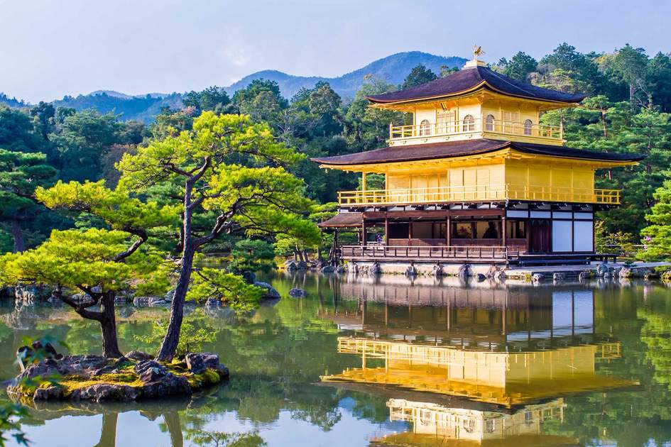 Kinkaku-ji, the Golden Pavilion, a Zen Buddhist temple in Kyoto. Photo: Shutterstock