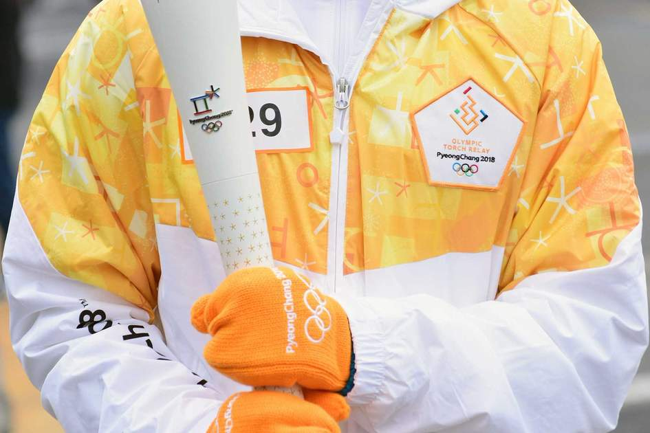 Olympic Flame for 2018 PyeongChang Winter Olympics. Photo: Shutterstock