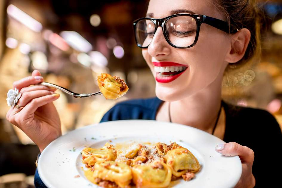 Tortellini originates from Bologna. Photo: Shutterstock
