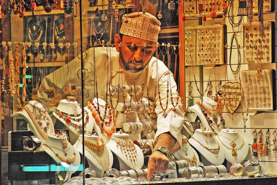 Shopping in Muscat