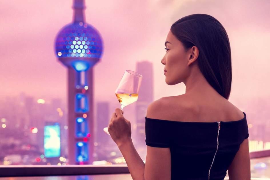 Rooftop bar terrace in Shanghai. Photo: Shutterstock