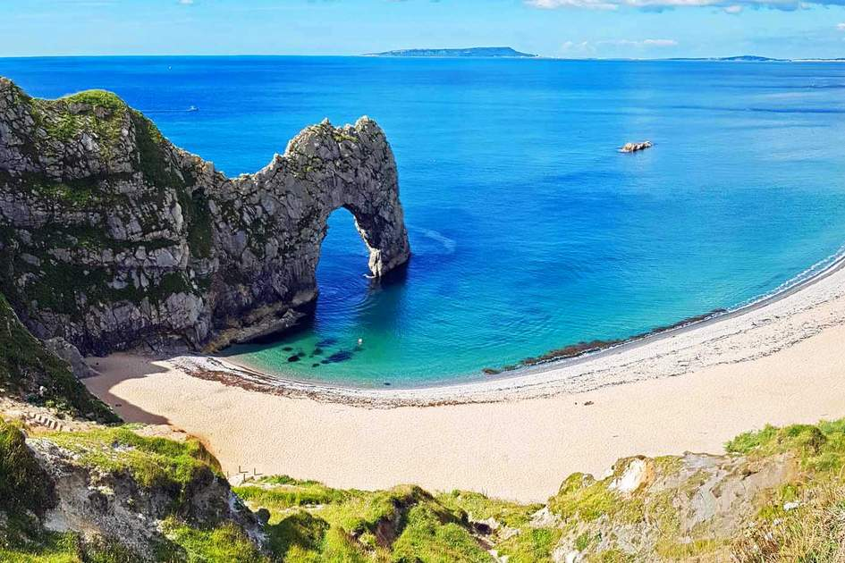 UK's Durdle Door beach. Photo: Shutterstock