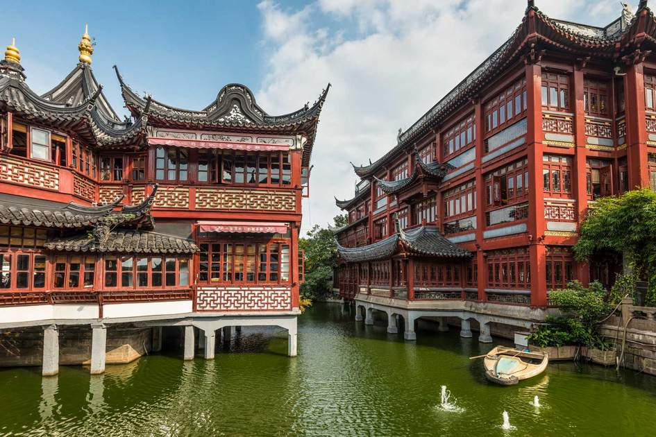 Garden of Happiness, Yuyuan Garden, Shanghai. Photo: Shutterstock