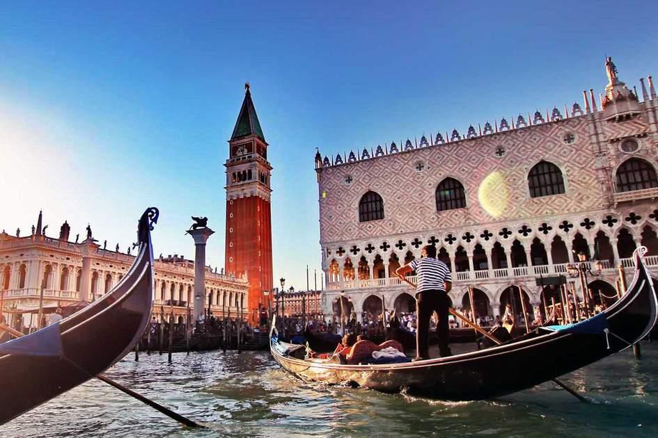 Gondolas in Venice. Photo: Shutterstock