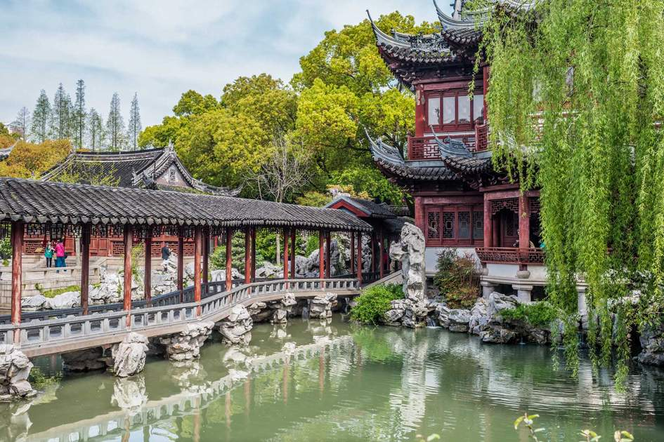 Traditional Shanghai Yuyuan Garden. Photo: Shutterstock