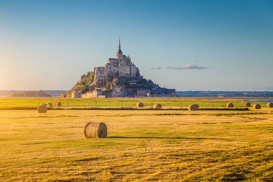 Le Mont Saint-Michel in Normandy, France