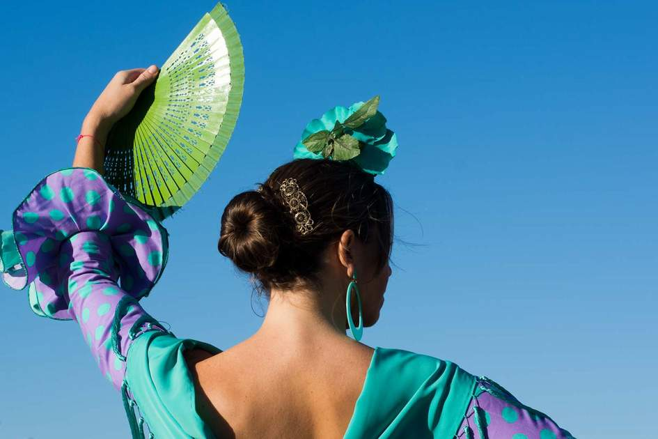 Flamenco dancer in Andalucia. Photo: Shutterstock