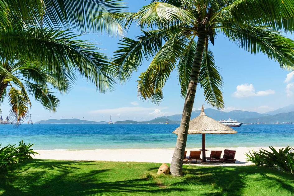 White sand beach at Nha Trang. Photo: Shutterstock