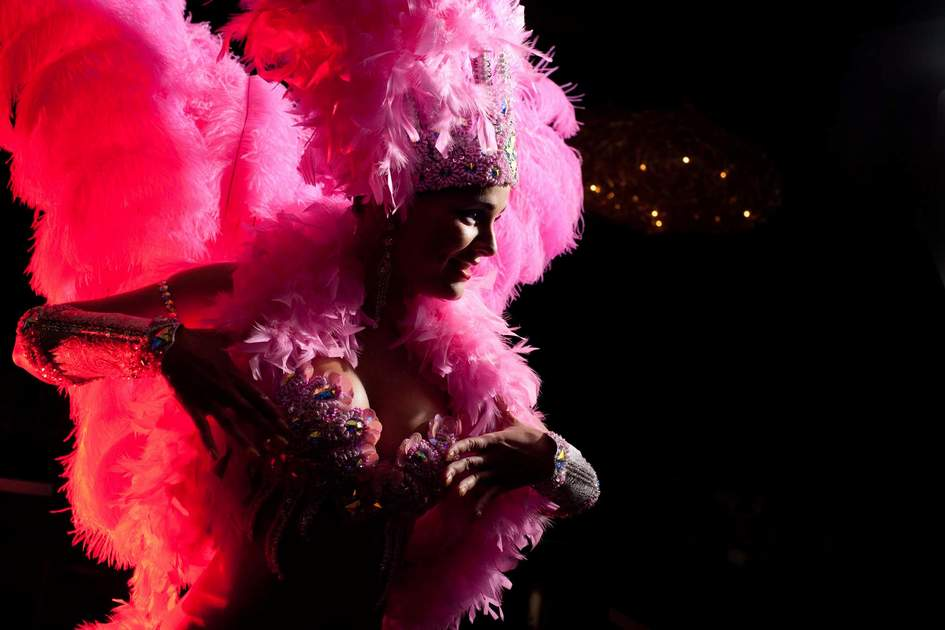 Parisian cabaret dancer. Photo: Shutterstock