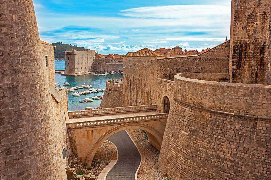 Dubrovnik Old Town and harbour. Photo: Shutterstock