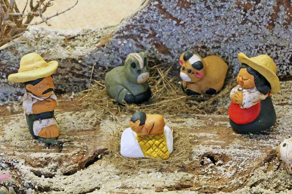 Mexican Nativity scene. Photo: Shutterstock
