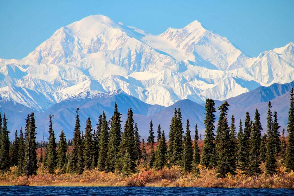 Denali is the highest mountain peak in North America, located in Alaska