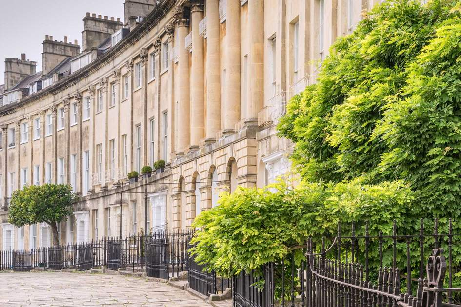 Classical houses of Bath