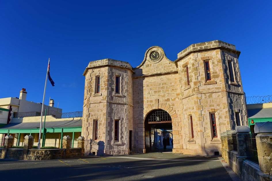 Fremantle Prison in Western Australia