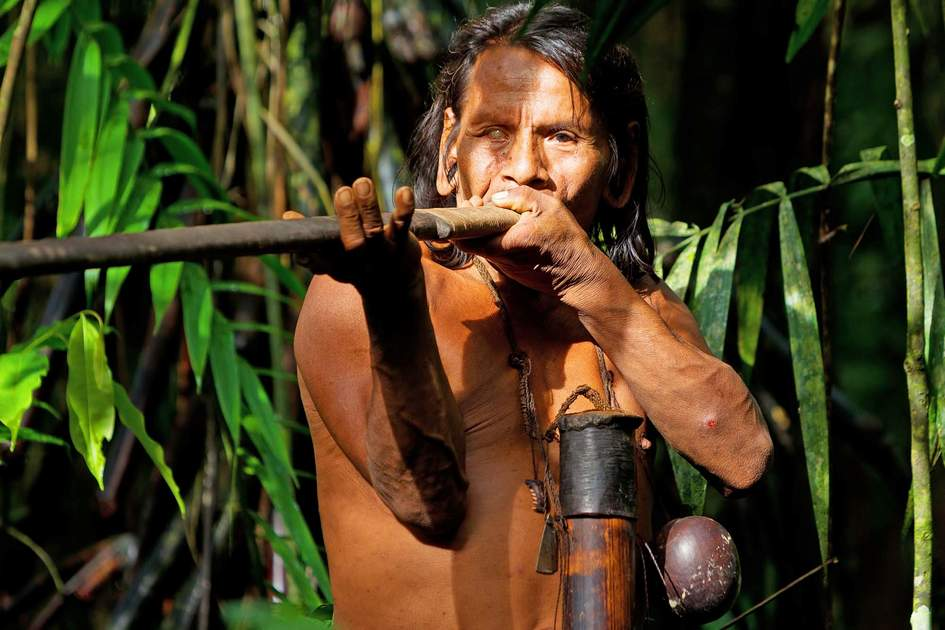 Huaorani hunter. Photo: Shutterstock