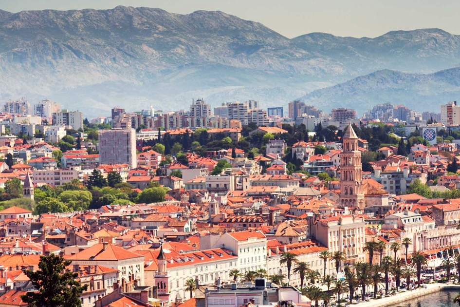 View over Split. Photo: Shutterstock