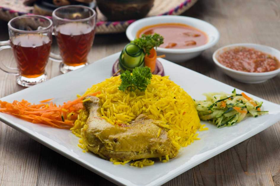 Chicken mandi - traditional arab food. Photo: Shutterstock