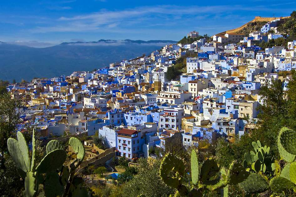 Chefchaouen, the Blue City in Morocco. Photo: Shutterstock